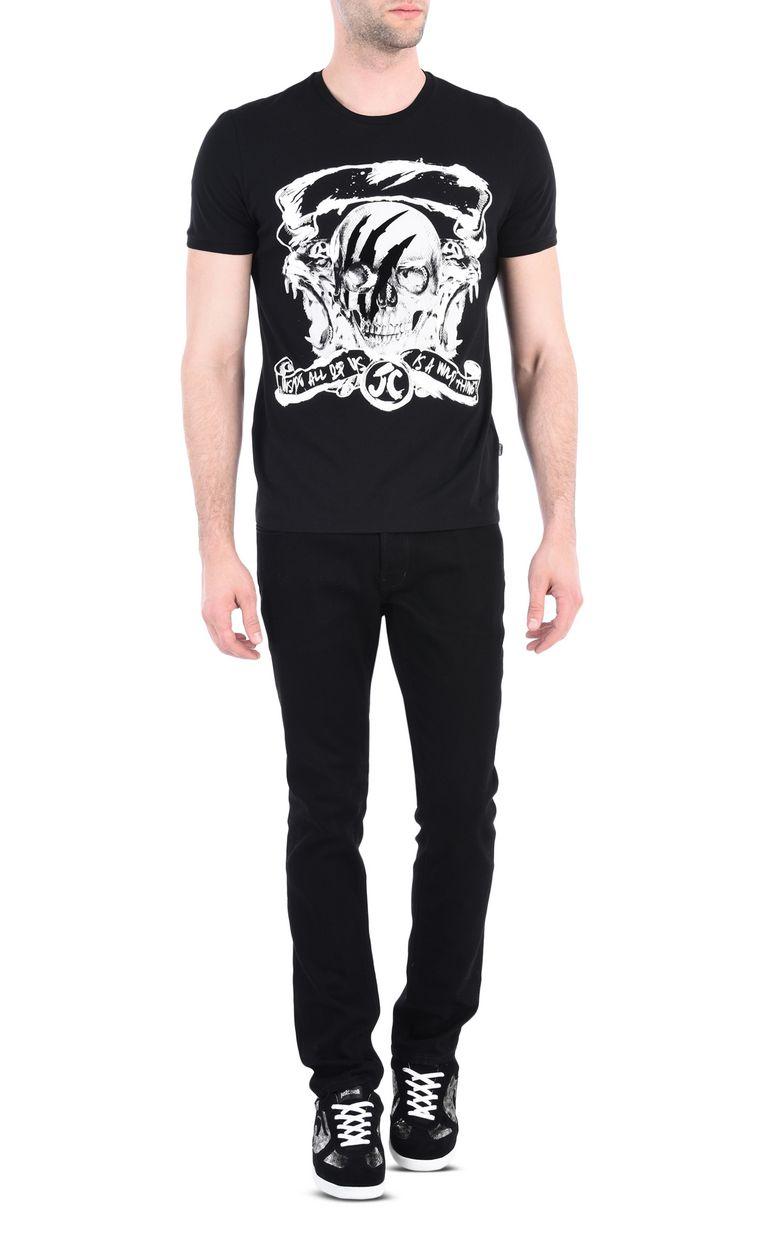 JUST CAVALLI Wild Thing T-shirt Short sleeve t-shirt [*** pickupInStoreShippingNotGuaranteed_info ***] r
