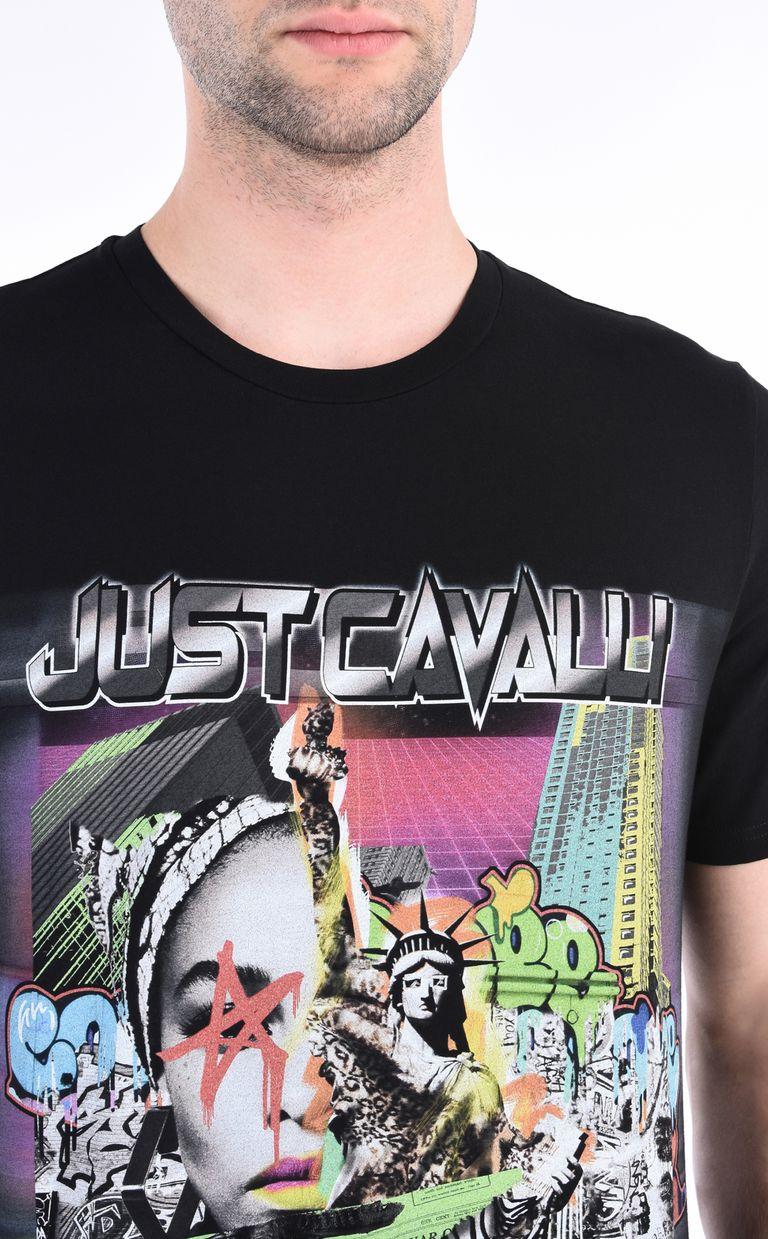 JUST CAVALLI American Fantasy T-shirt Short sleeve t-shirt Man e