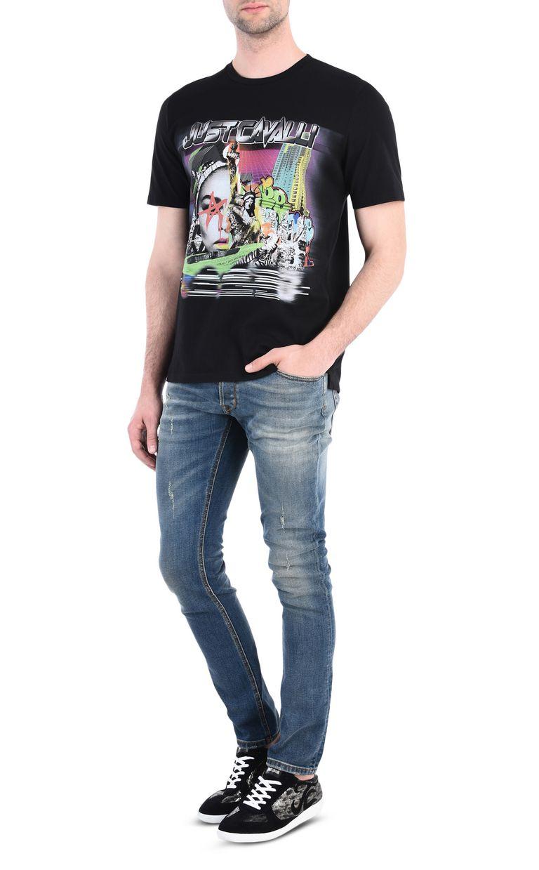 JUST CAVALLI American Fantasy T-shirt Short sleeve t-shirt Man r