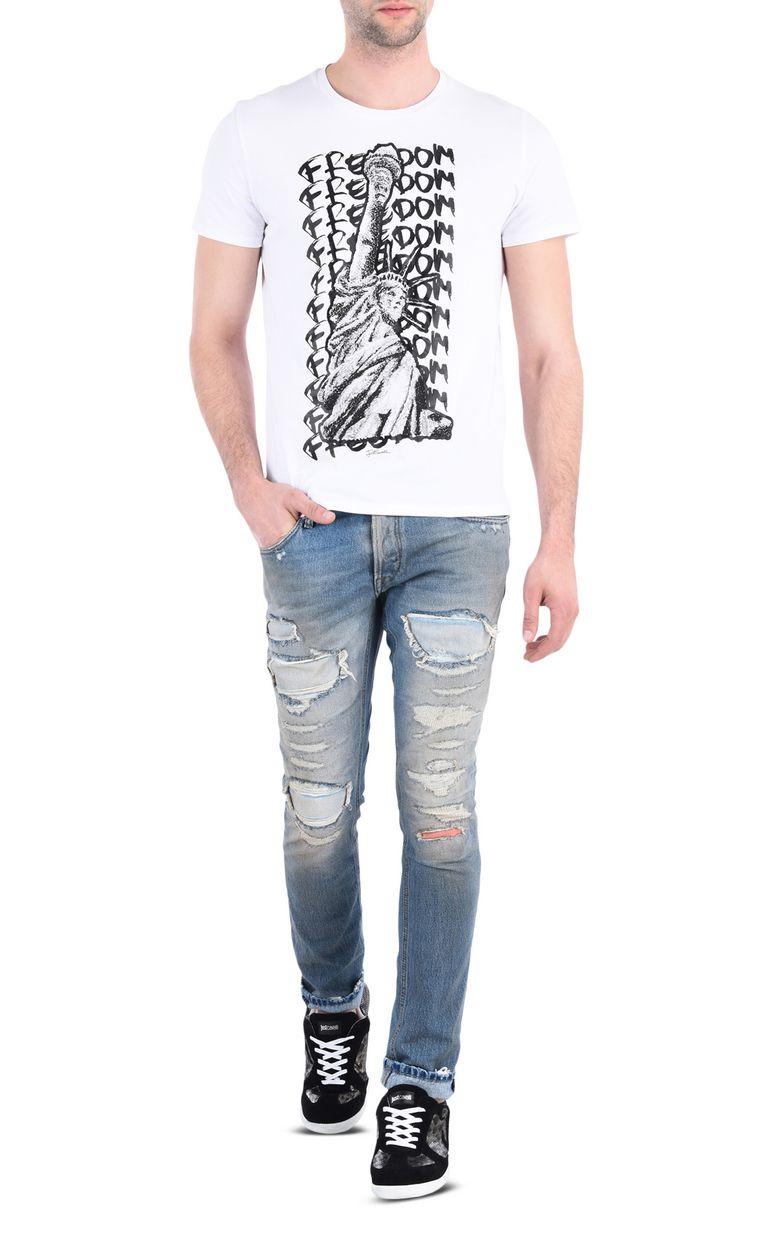 JUST CAVALLI Short sleeve t-shirt Man r