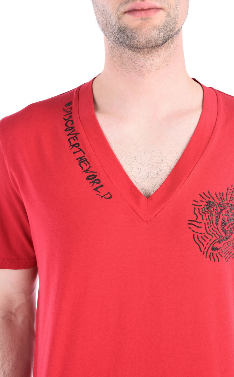 JUST CAVALLI #DiscoverTheWorld T-shirt Short sleeve t-shirt Man e