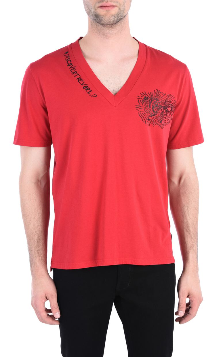 JUST CAVALLI #DiscoverTheWorld T-shirt Short sleeve t-shirt Man f