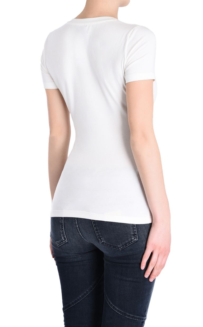 JUST CAVALLI Just Cavalli heart T-shirt Short sleeve t-shirt [*** pickupInStoreShipping_info ***] d
