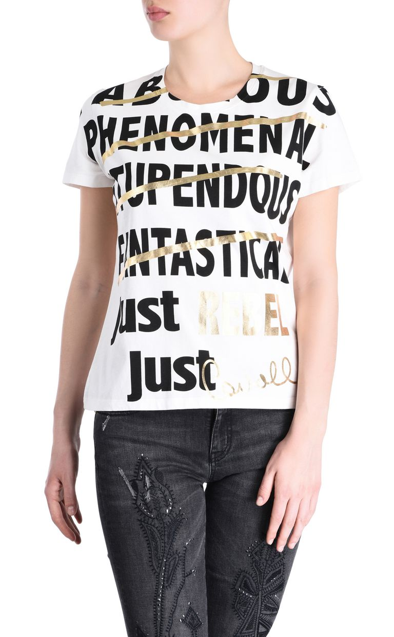 JUST CAVALLI REBEL T-shirt Short sleeve t-shirt Woman f