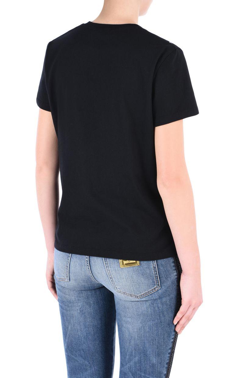 JUST CAVALLI Flower T-shirt Short sleeve t-shirt [*** pickupInStoreShipping_info ***] d