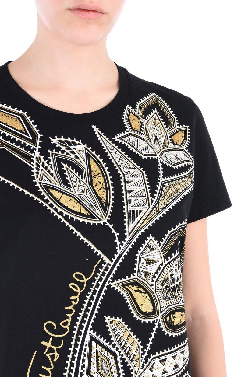 JUST CAVALLI Flower T-shirt Short sleeve t-shirt [*** pickupInStoreShipping_info ***] e