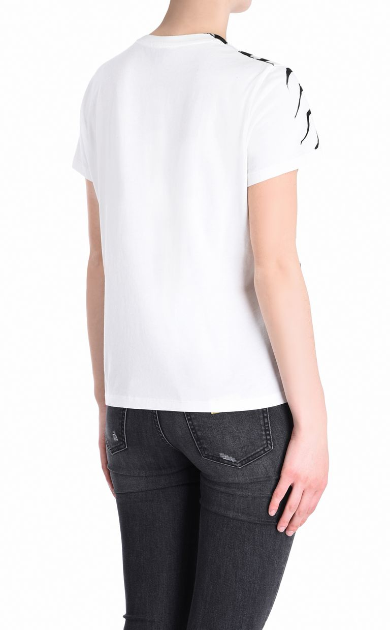 JUST CAVALLI Zebra T-shirt Short sleeve t-shirt Woman d