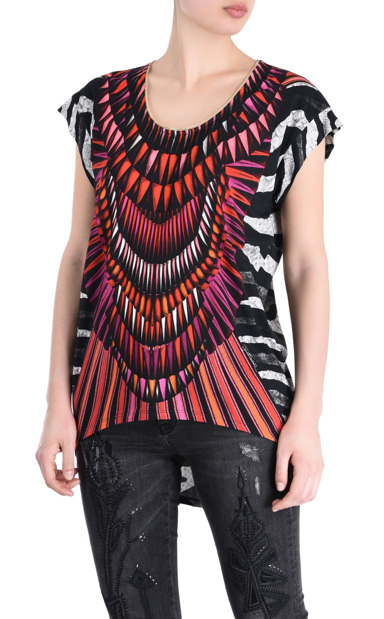 JUST CAVALLI Tanzania T-shirt Short sleeve t-shirt Woman f