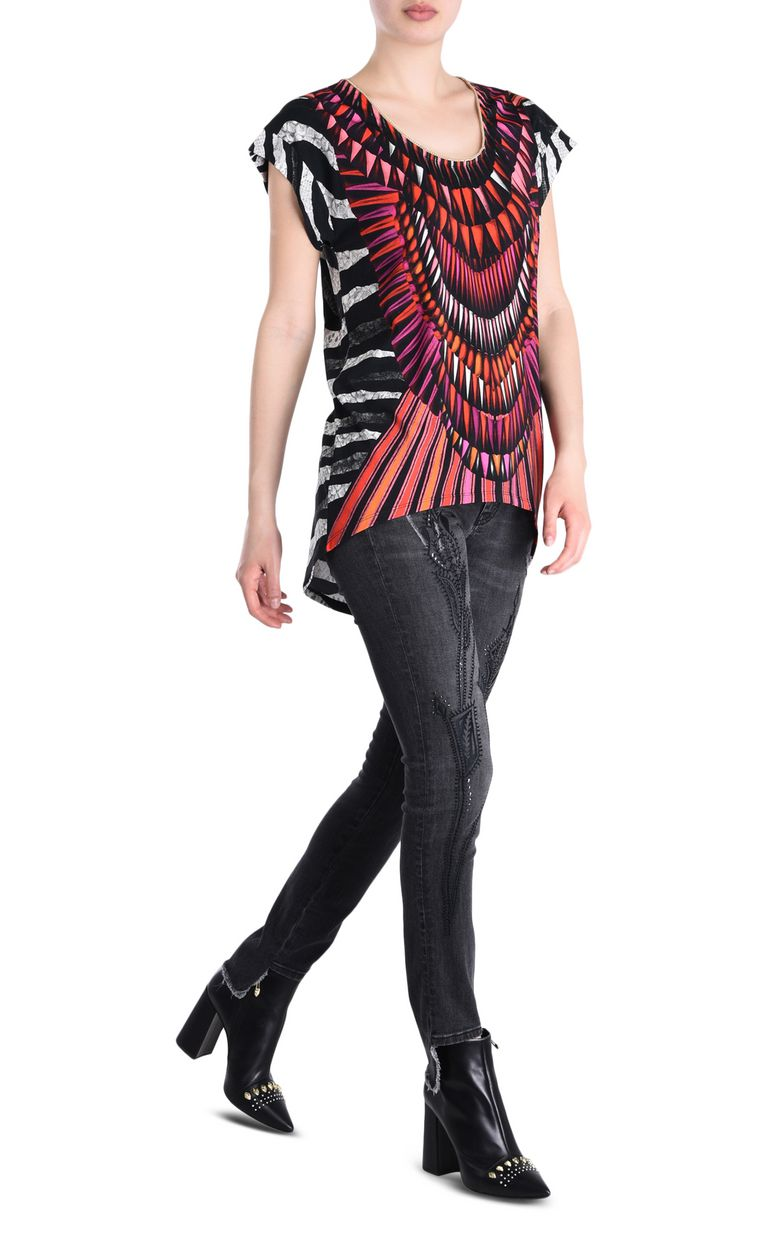 JUST CAVALLI Tanzania T-shirt Short sleeve t-shirt Woman r