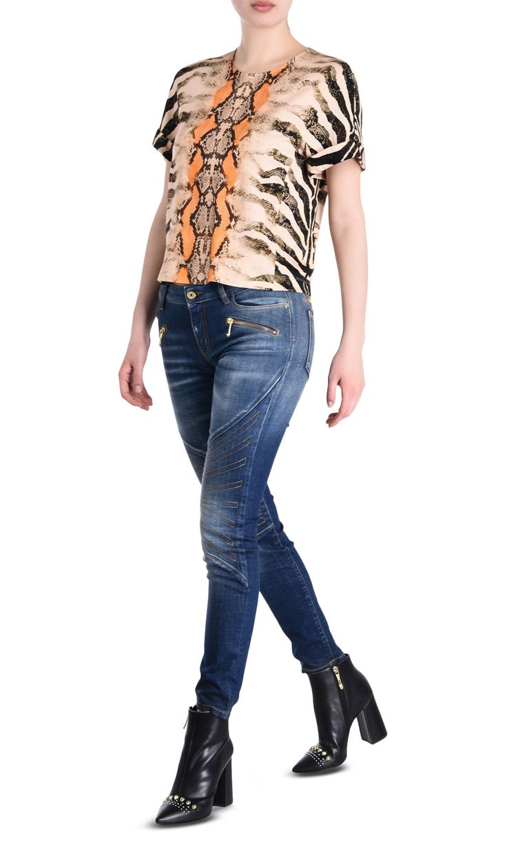 JUST CAVALLI Namibia short-sleeve top Top [*** pickupInStoreShipping_info ***] r