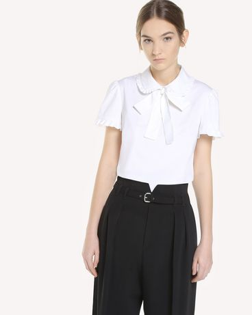 REDValentino QR3AA0Z20ES 001 Shirt Woman d