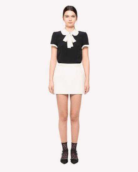 REDValentino Shirt Woman QR3AA0Z03TQ 0NA f