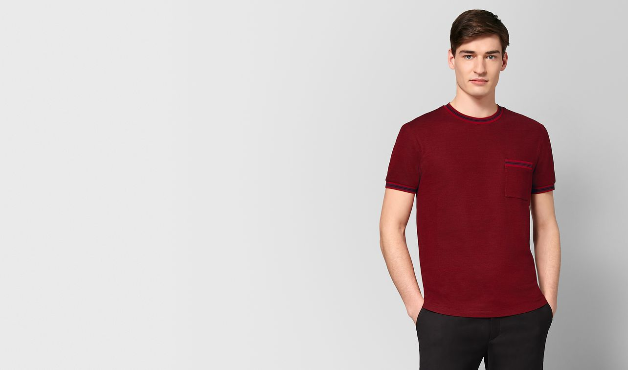 china red cotton t-shirt landing