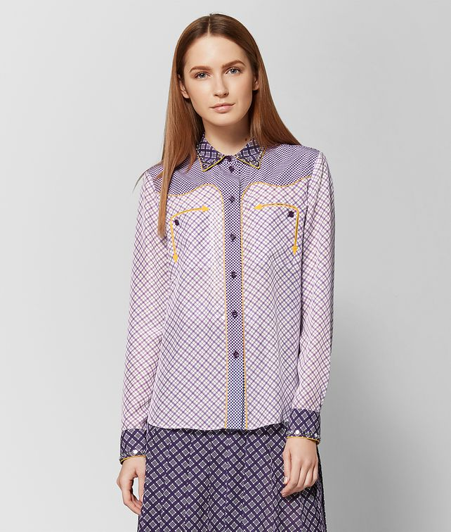 BOTTEGA VENETA MONALISA SILK SHIRT Knitwear or Top or Shirt Woman fp