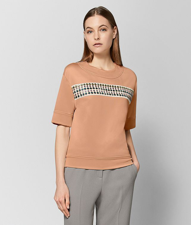 BOTTEGA VENETA DAHLIA VISCOSE SWEATER  Knitwear or Top or Shirt Woman fp