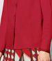 BOTTEGA VENETA CAMICIA IN COTONE CHINA RED Maglieria o camicia o top Donna ap