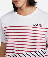 KARL LAGERFELD Contrast Stripe T-Shirt 9_f
