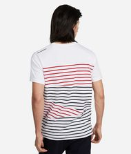 KARL LAGERFELD T-shirt à rayures contrastantes 9_f