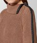 BOTTEGA VENETA DESERT ROSE COTTON SWEATER Knitwear or Top or Shirt Woman ap