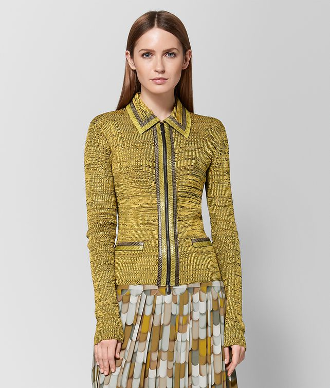 BOTTEGA VENETA MULTICOLOR VISCOSE SWEATER Knitwear or Top or Shirt Woman fp