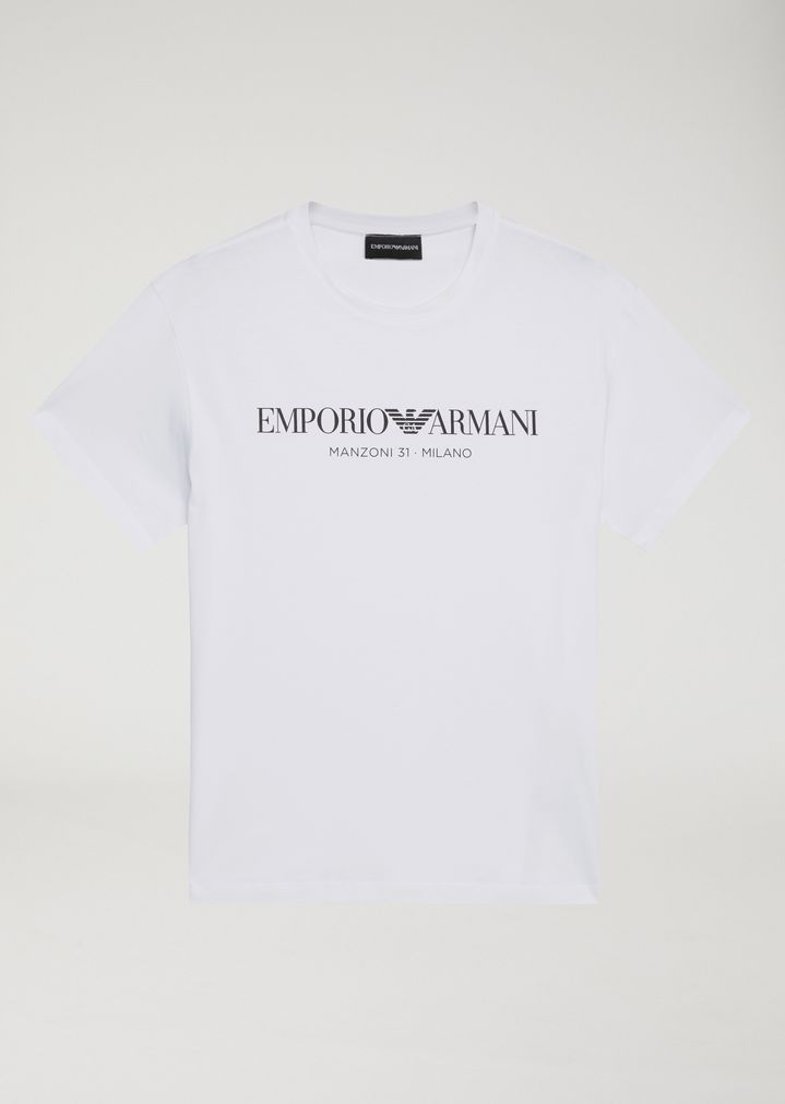 2f9ac329 Home · Emporio Armani · Woman · T-Shirts; Manzoni 31 Milano Unisex T-shirt.  Limited Edition