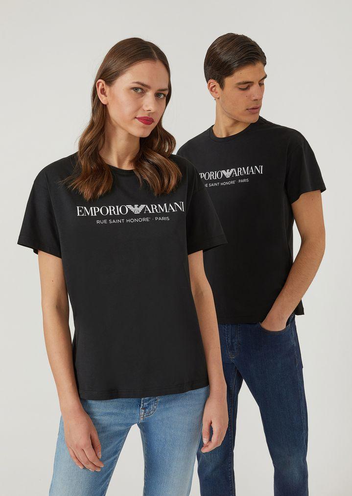 23678b324a T-shirt unisexe Rue Saint Honoré Paris