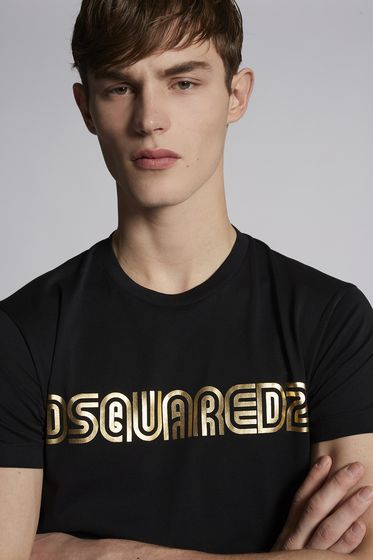 DSQUARED2 Short sleeve t-shirt Man S74GD0413S22844100 m