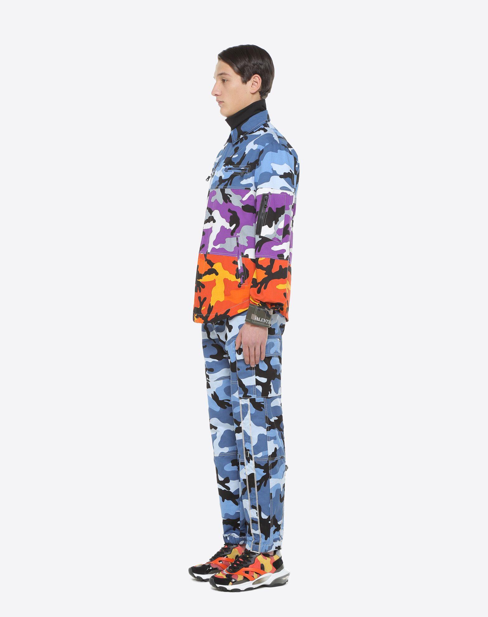 VALENTINO Camoushuffle shirt jacket Shirt U d
