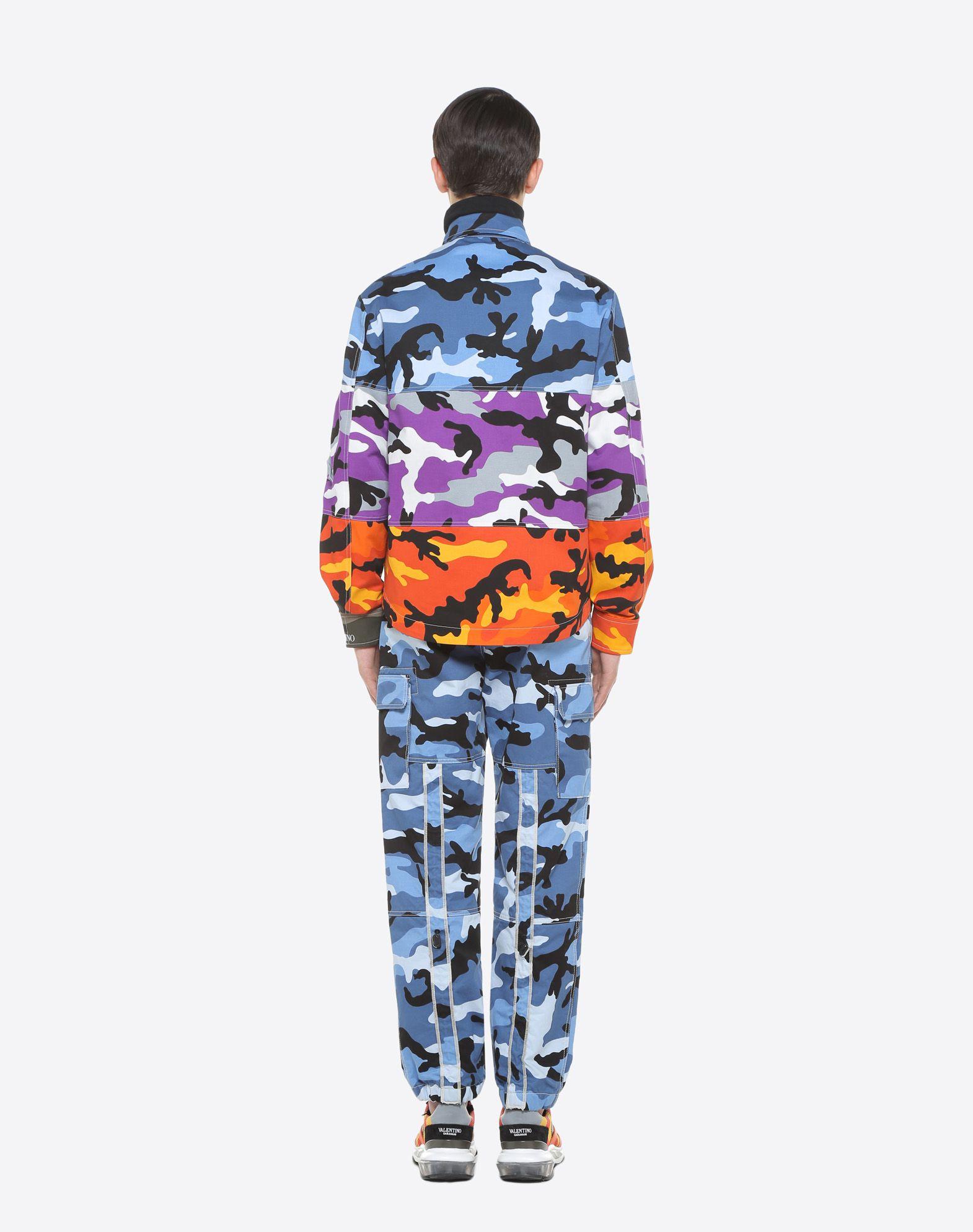 VALENTINO Camoushuffle shirt jacket Shirt U e