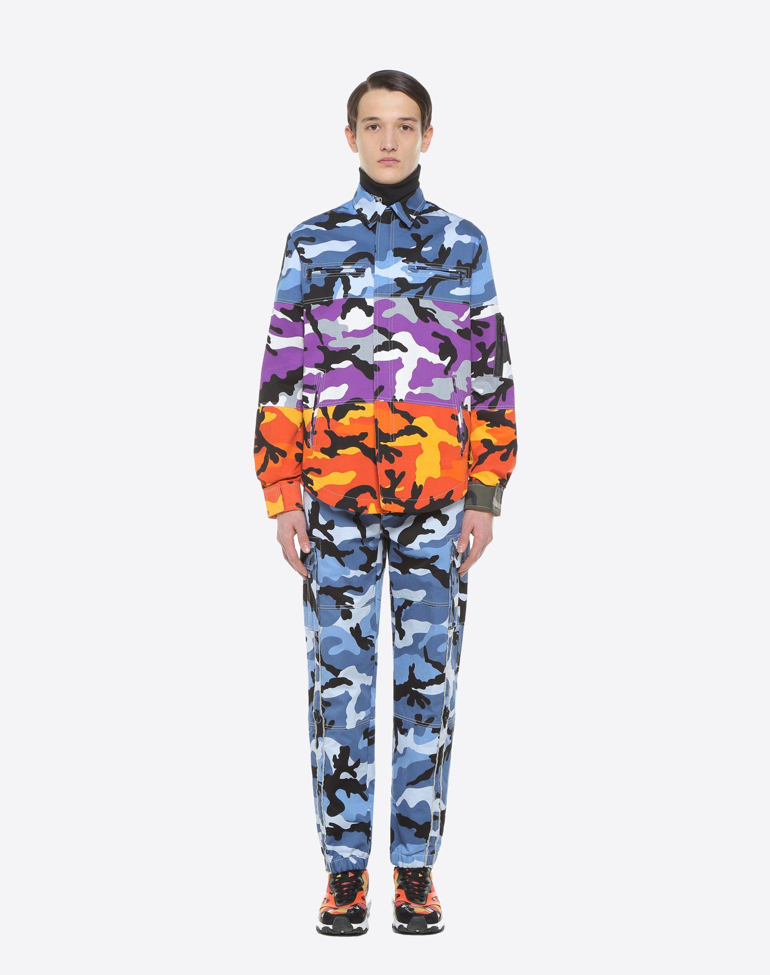 VALENTINO Camoushuffle shirt jacket Shirt U r