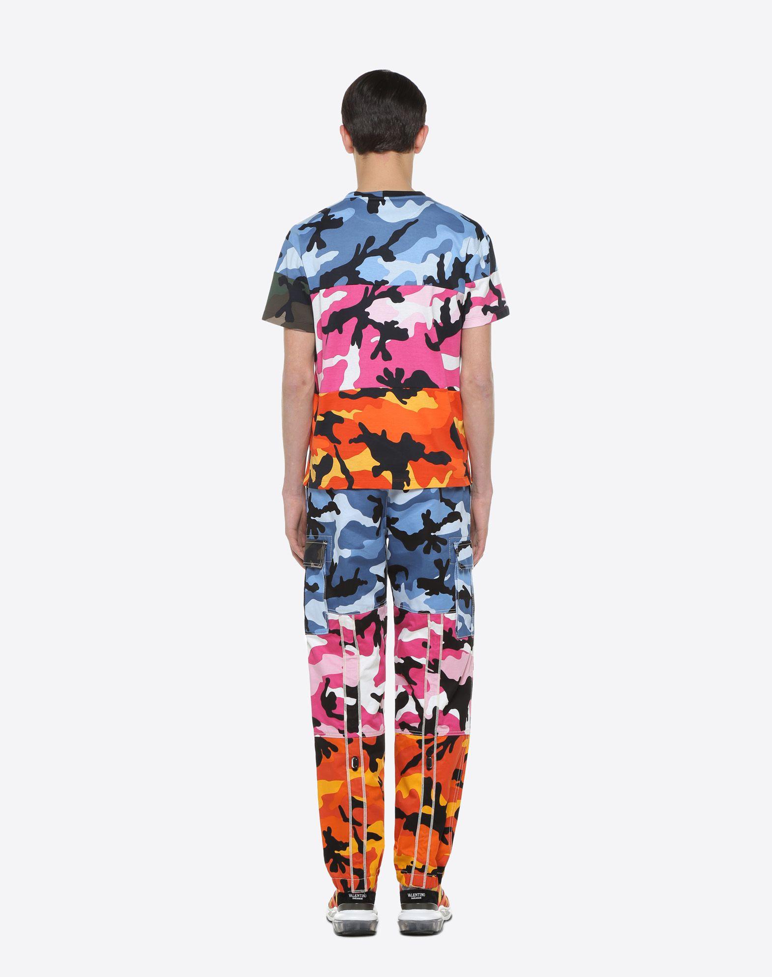 VALENTINO CamoushuffleT-shirt  T-shirt U e