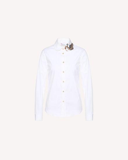 REDValentino 衬衫 女士 QR3AB1R50ES 001 a