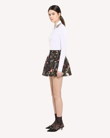 REDValentino QR3AB1R50ES 001 Shirt Woman d