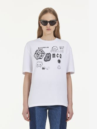 McQ Swallow Sponsorship T-Shirt