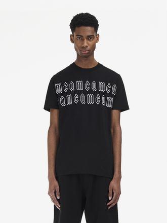 McQ Gothic Repeat Logo T-Shirt