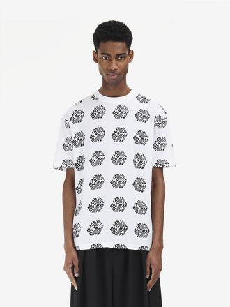 McQ Cube Logo T-Shirt