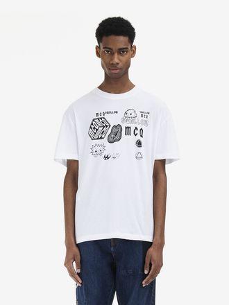 McQ Swallow Sponsorship T-Shirt