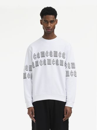 Sweat-shirt avec logo McQ Gothic Repeat