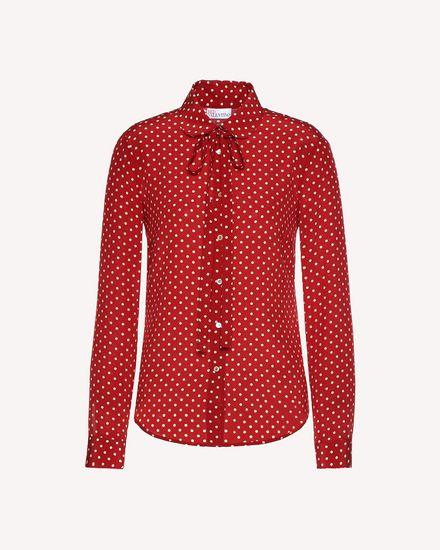 REDValentino Shirt Woman QR3AB1R03T8 C61 a