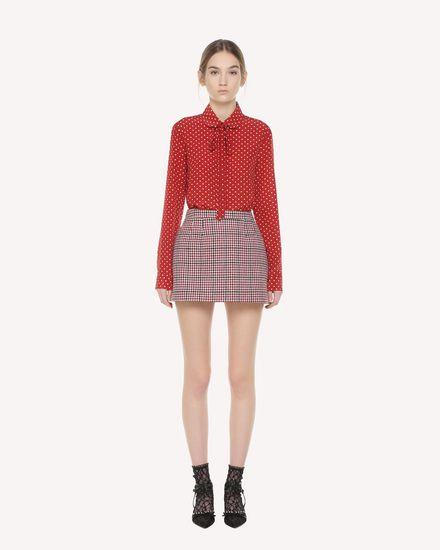 REDValentino Shirt Woman QR3AB1R03T8 C61 f