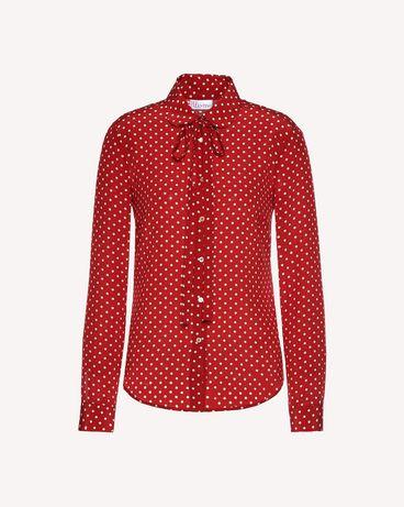 REDValentino QR3AB1R03T8 C61 Shirt Woman a