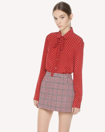 REDValentino QR3AB1R03T8 C61 Shirt Woman d