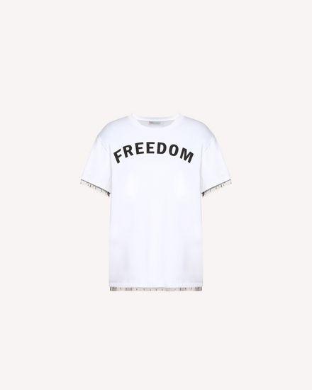REDValentino T 恤 女士 QR3MG09S40F A01 a