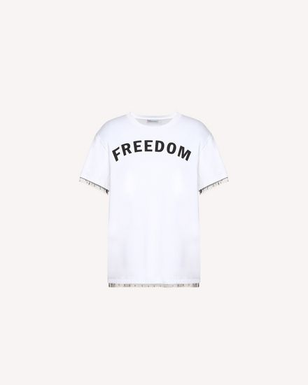 REDValentino T-Shirt Woman QR3MG09S40F A01 a