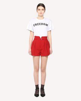 REDValentino Freedom print t-shirt