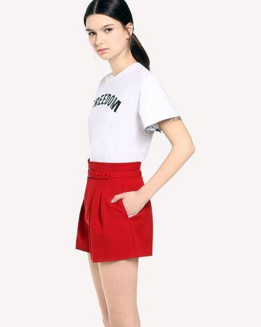 REDValentino QR3MG09S40F A01 T-Shirt Woman d