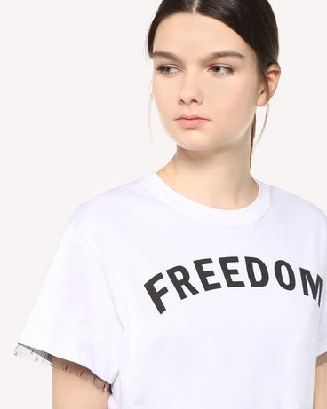 REDValentino QR3MG09S40F A01 T-Shirt Woman e