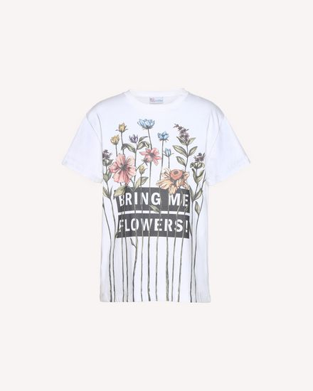 REDValentino T-Shirt Woman QR3MG09W40S 0BO a