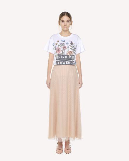 REDValentino T-Shirt Woman QR3MG09W40S 0BO f