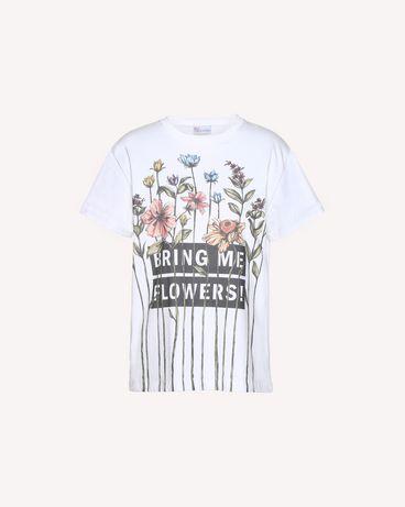 REDValentino QR3MG09W40S 0BO T-Shirt Woman a